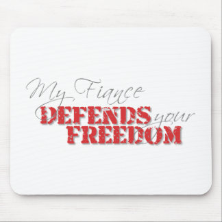 Fiance Defends Freedom Mouse Pad