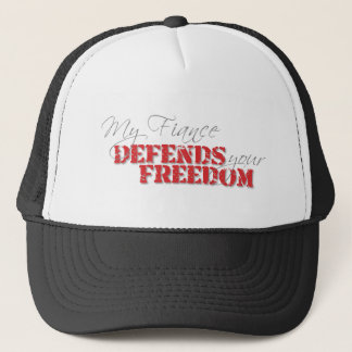 Fiance Defends Freedom Trucker Hat