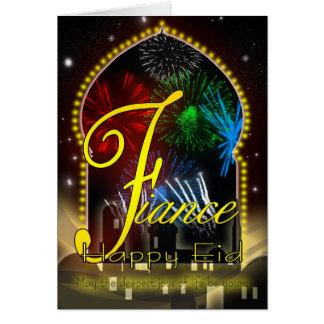 Fiance - Eid Day Card - Happy Eid