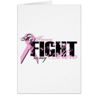 Fiance Hero - Fight Breast Cancer Card