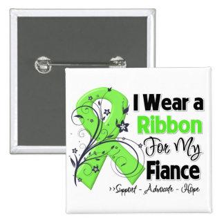 Fiance - Lymphoma Ribbon Pinback Buttons