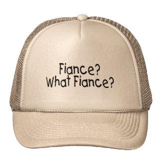 Fiance, What Fiance Trucker Hat