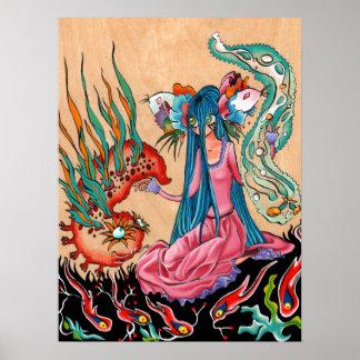 Fiancée axolotl poster