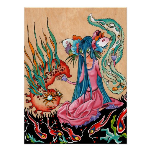Fiancée axolotl posters