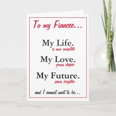 Fiance Birthday Card Love Wife Card Zazzle