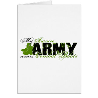 Fiancee Combat Boots - ARMY Card