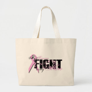 Fiancee Hero - Fight Breast Cancer Canvas Bag