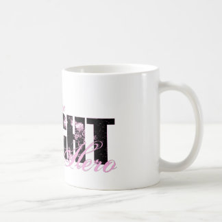 Fiancee Hero - Fight Breast Cancer Classic White Coffee Mug