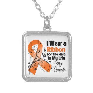 Fiancee Hero in My Life Leukemia Custom Necklace
