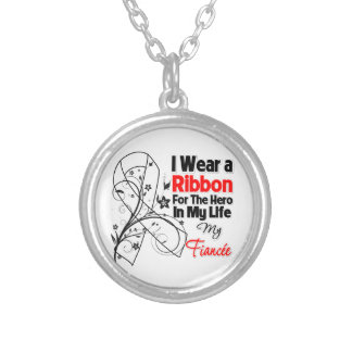 Fiancee Hero in My Life Lung Cancer Pendant