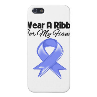 Fiancée - I Wear Periwinkle Ribbon iPhone 5 Cover