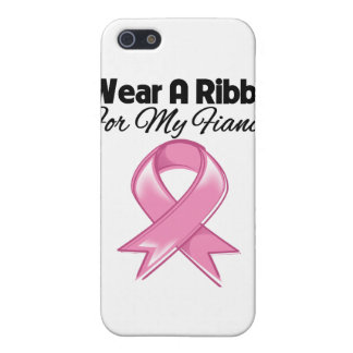 Fiancée - I Wear Pink Ribbon Stylish iPhone 5 Cover