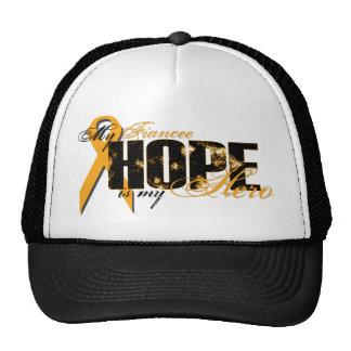 Fiancee My Hero - Leukemia Hope Trucker Hat