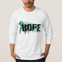Fiancee My Hero - Ovarian Hope T-Shirt