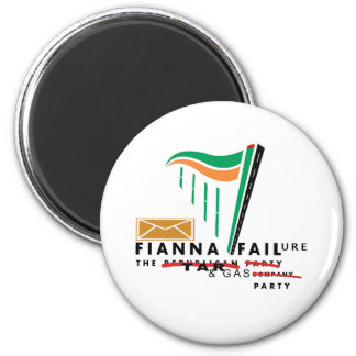fianna failure 2 inch round magnet