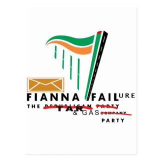 fianna failure postcard