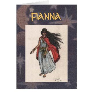 Fianna Greeting Card