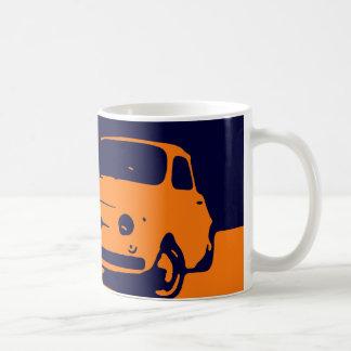 Fiat 500, 1959 - naranja en oscuridad taza