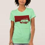 Fiat 500, 1959 - rojo en el camisetas ligero
