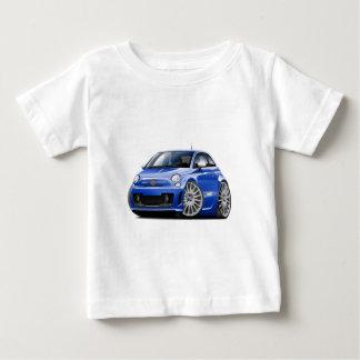 Fiat 500 Abarth Blue Car Baby T-Shirt