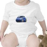 Fiat 500 Abarth Blue Car Romper