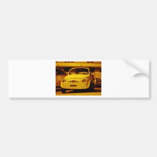 Fiat 500 Abarth Bumper Stickers