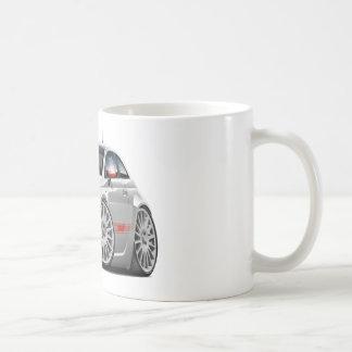 Fiat 500 Abarth Grey Car Classic White Coffee Mug
