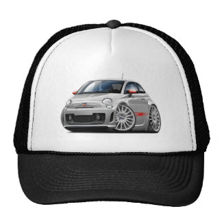Fiat 500 Abarth Grey Car Trucker Hat