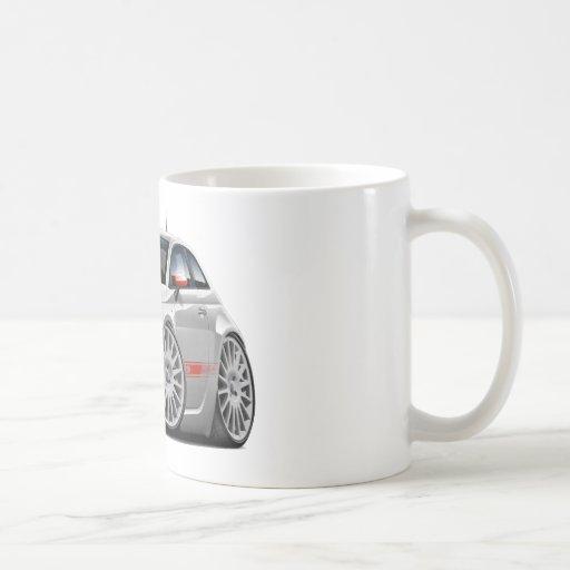 Fiat 500 Abarth Grey Car Coffee Mug