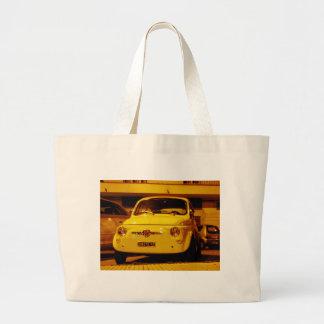 Fiat 500 Abarth. Jumbo Tote Bag