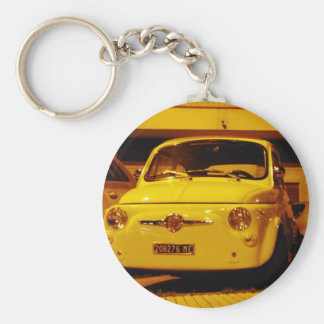 Fiat 500 Abarth. Keychain