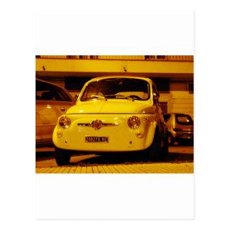 Fiat 500 Abarth. Tarjetas Postales
