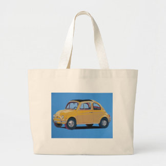 Fiat 500 tote bags