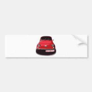 Fiat 500 Biarritz Bumper Sticker