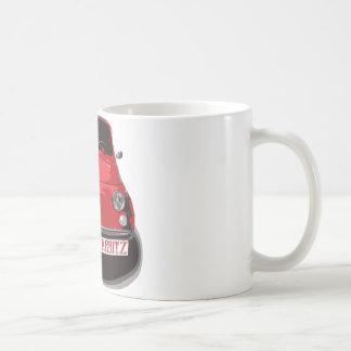 Fiat 500 Biarritz Coffee Mug