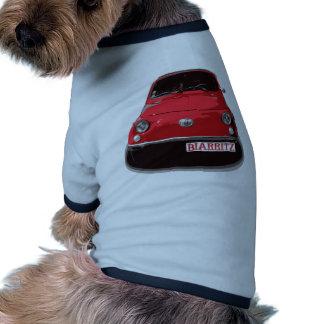 Fiat 500 Biarritz Pet Tshirt