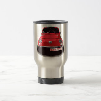 Fiat 500 Biarritz Mug