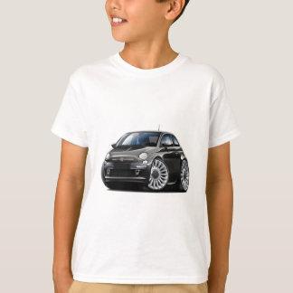 Fiat 500 Black Car T-Shirt