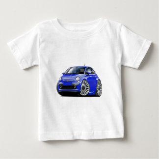 Fiat 500 Blue Car Baby T-Shirt