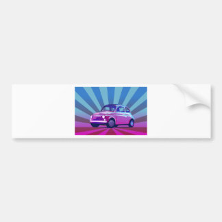 Fiat 500 Bunt Bumper Stickers