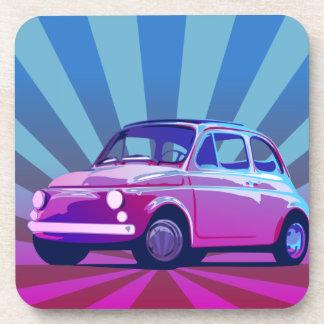 Fiat 500 Bunt Drink Coaster