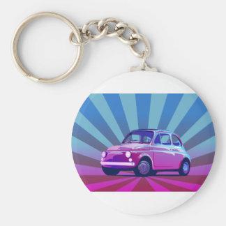 Fiat 500 Bunt Keychain