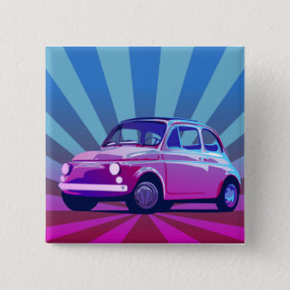 Fiat 500 Bunt Pinback Button