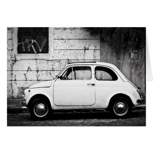 Fiat 500 card