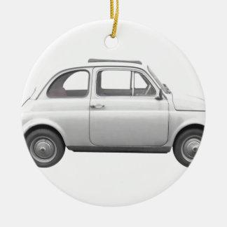Fiat 500 ceramic ornament