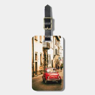 Fiat 500 Cinquecento en Italia Etiquetas Bolsas