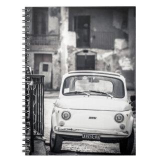 Fiat 500, Cinquecento en Italia Libros De Apuntes