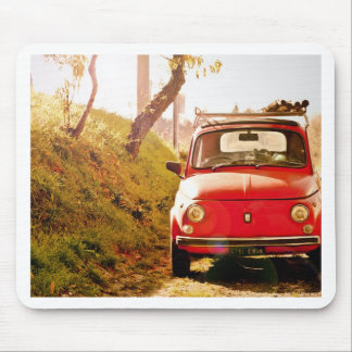Fiat 500, CInquecento en Italia Mouse Pad