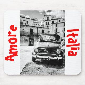 Fiat 500, cinquecento en Italia, regalo clásico de Alfombrillas De Raton