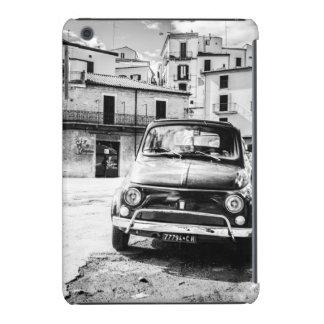 Fiat 500 cinquecento en Italia regalo clásico de Fundas De iPad Mini Retina